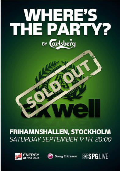 Where's The Party - Stockholm