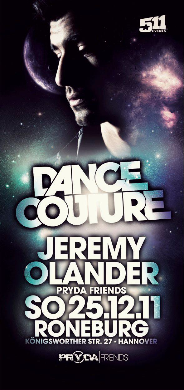 Jeremy Olander Dance Couture Hanover 25 December